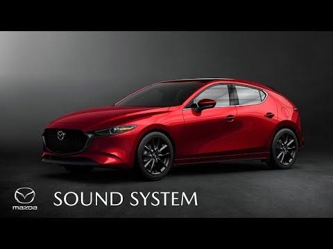 Sound System   2019 Mazda3   Mazda Canada