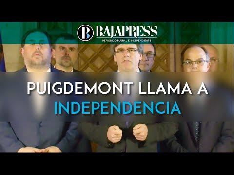 Puigdemont llama a declarar la independencia tras una insólita votación