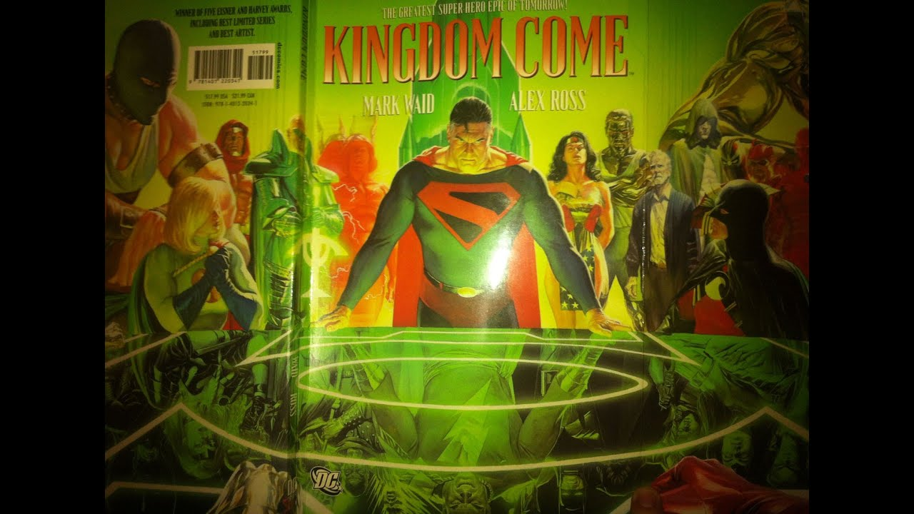 review as read 28 kingdom come by mark waid and alex ross dc