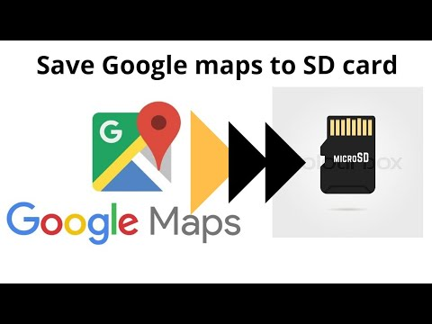 How To Save Google Maps To SD Card