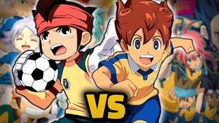 INAZUMA ELEVEN VS INAZUMA ELEVEN GO - Batalla de rap | RTX F...