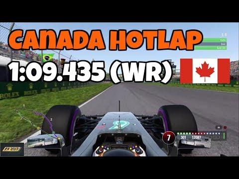 F1 2017 Canada Hotlap + Setup: 1:09.435 (World Record)