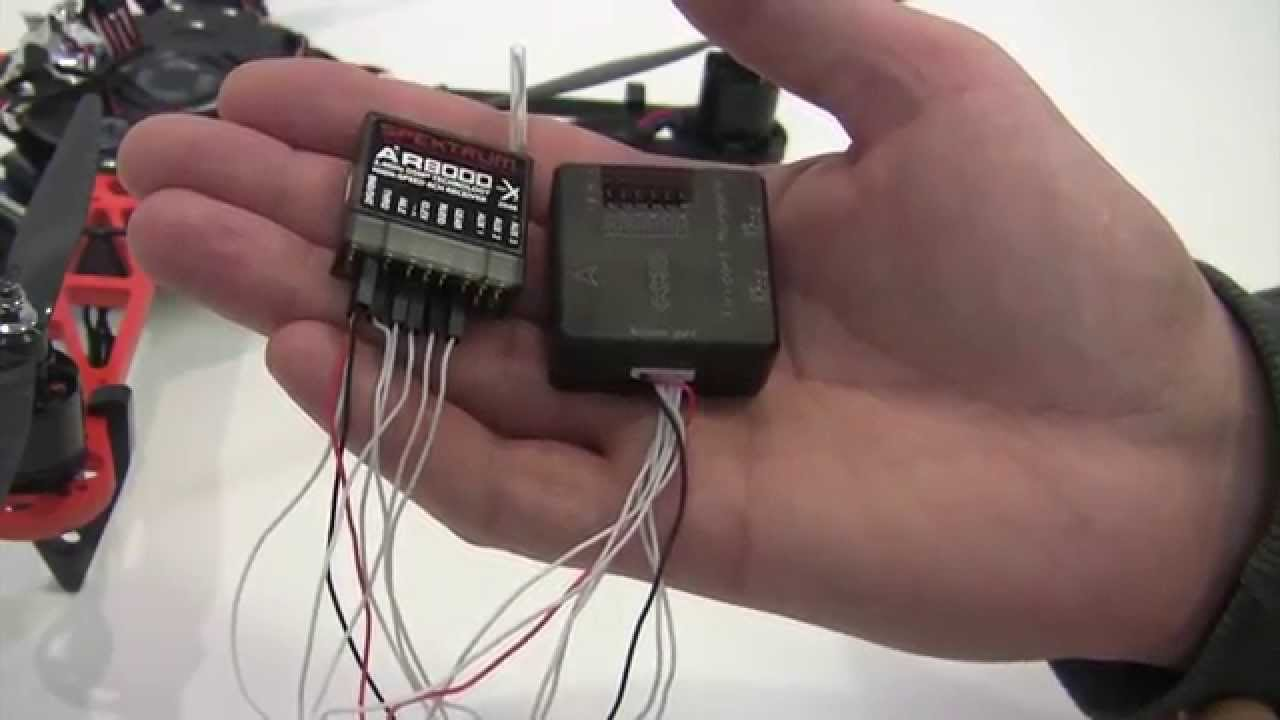maxresdefault cc3d wiring to receiver setup cc3d flight controller youtube spektrum ar8000 wiring diagram at gsmx.co