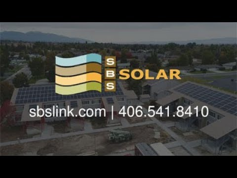 Montana Solar Installation Company - SBS Solar Commercial - Business