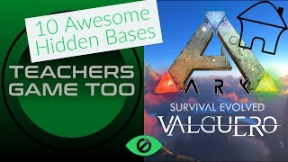 Valguero 10 Crazy Hidden Base Locations Awesome spots to stay hidden