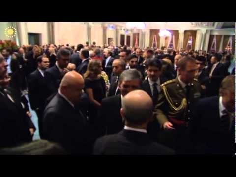 President Gül Attends Reception Hosted by Grand Duke of Luxembourg - 21.11.2013