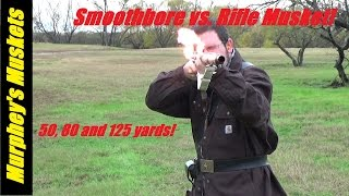 Smoothbore Musket vs. Rifle Musket Accuracy
