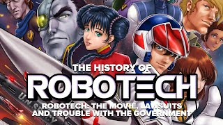 The History of Robotech vol 2: The Movie, A Lawsuit and Government Trouble