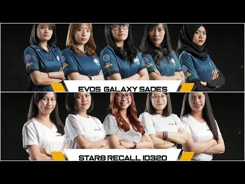 PBLC 2019 S1 SemiFinal Evos Galaxy Sades VS Star8 Recall