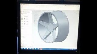 Herr G Solidworks-Unterricht: so Erstellen Sie eine Auto-Felge oder Rad. Teil 2