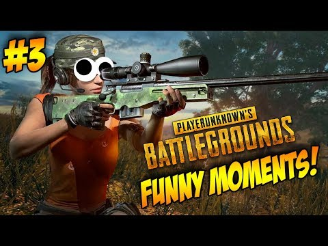 Will I Get My FIRST Chicken Dinner Ever?!!! - [PUBG FUNNY MOMENTS #3]