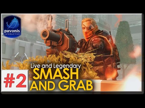 XCOM 2 Long War: Live and Legendary #2 - SMASH AND GRAB