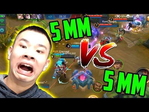 5 MM VS 5 MM BARENG NO LIMITERS!! NGUAKAK POLL!! WKWKWKWK