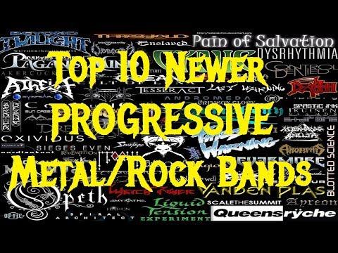 Top 10 Newer Progressive Metal/Rock Bands