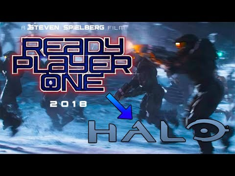 All Halo References/Scenes in Ready Player One!