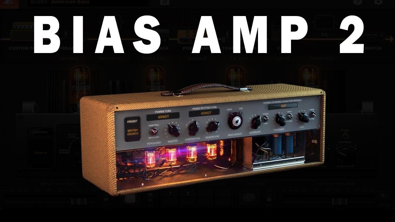 BIAS AMP 2 Demo Crunch and clean sound + Celestion IR