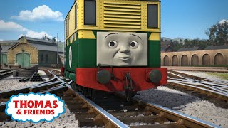 which engine was on the same track as phillip? the earls quiz thomas friends