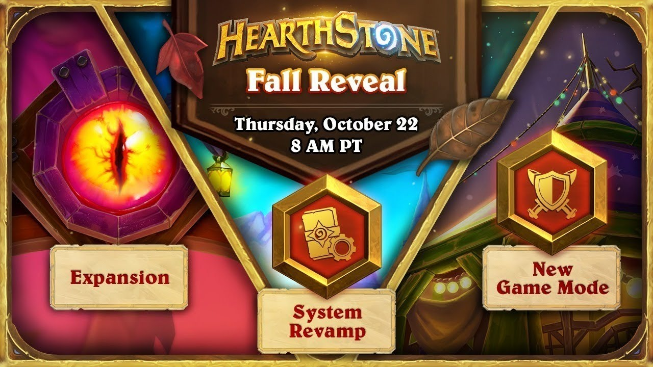 Hearthstone Fall Reveal Livestream