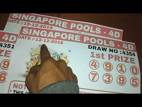 Singapore Pools 4D LOTTO WINNING NUMBERS 100% SURE WINNING NUMBERS LIVE SHOW