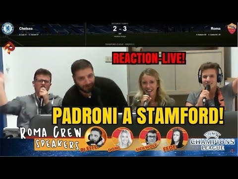 GODO: PADRONI A STAMFORD BRIDGE!!!! [Reaction-Live Chelsea-Roma 3-3]