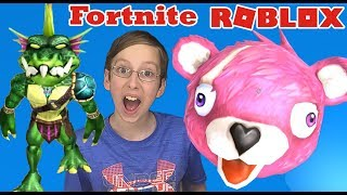 ROBLOX FORTNITE OBBY | KID GAMING | Roblox Game For Kids Video
