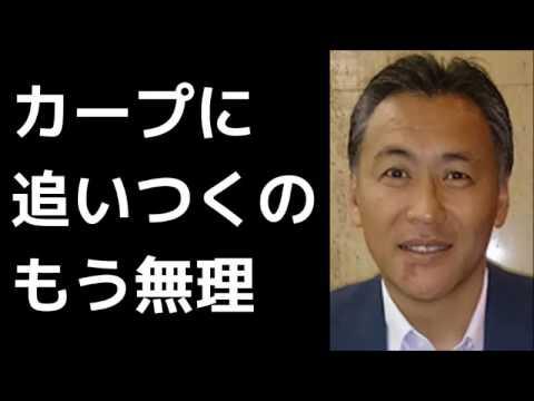 笘篠賢治けが人出ない限りカープの優勝は決まり2017年7月24日
