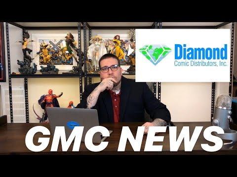 BREAKING! Diamond Comic Book Distributors To Cease New Shipments! GMC News