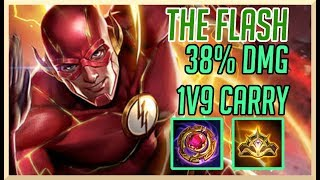 AoV: FLASH CARRYING 1V9! (SICK GAME) | ARENA OF VALOR FLASH GAMEPLAY GUIDE