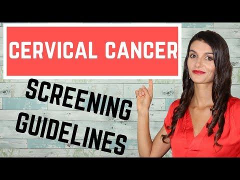 Cervical Cancer Screening Guidelines  *USMLE STEPs 1, 2 & 3*