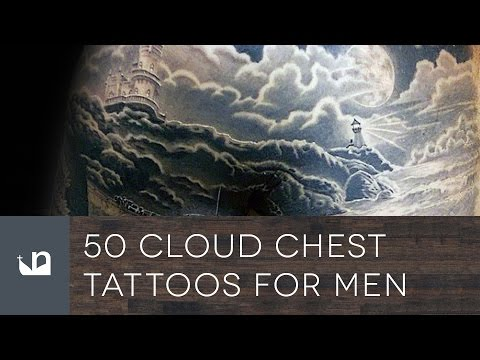 50 Cloud Chest Tattoos For Men
