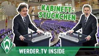 Thomas Delaney beruft Aron Johannsson zum Chip-Minister | WERDER.TV Inside vor VfL Wolfsburg
