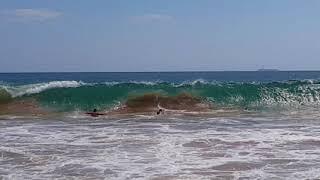 Шри-Ланка, огромные волны