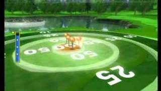 Wii Sports Golf Target Practice 950 points