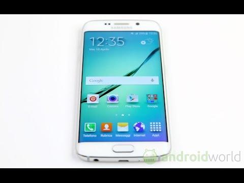 Samsung Galaxy S6 edge, recensione in italiano
