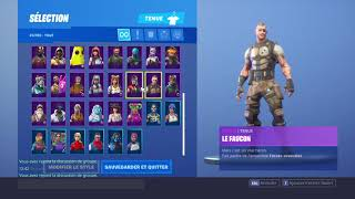 I sell my Fortnite account 10 euros! (Rare skins, season 4.6,7.8 only)