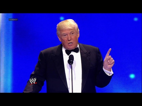 Should WWE Acknowledge Donald Trump?