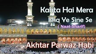 HD New Naat Sharif    Kahta Hai Mera Ishq Ye Sine Se Nikalkar    Akhtar Parwaz Habi