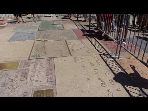 Grauman's Chinese Theatre - Forecourt Footprints