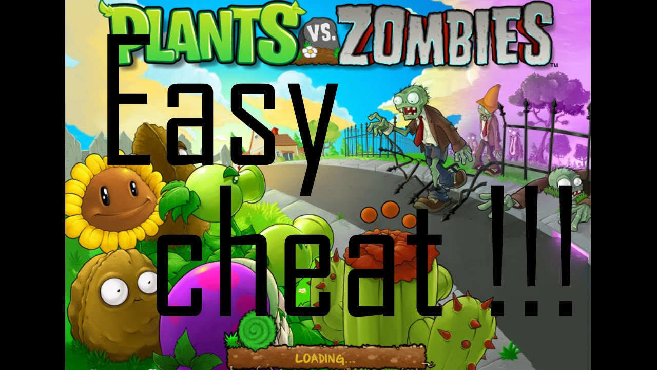 how to cheat plant vs zombies with cheat engine - YouTube