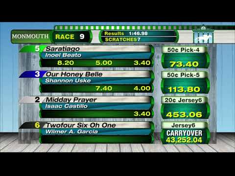 video thumbnail for MONMOUTH PARK 10-20-19 RACE 9
