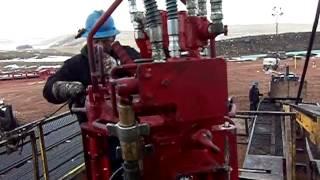 rig 28 north dakota oil fields