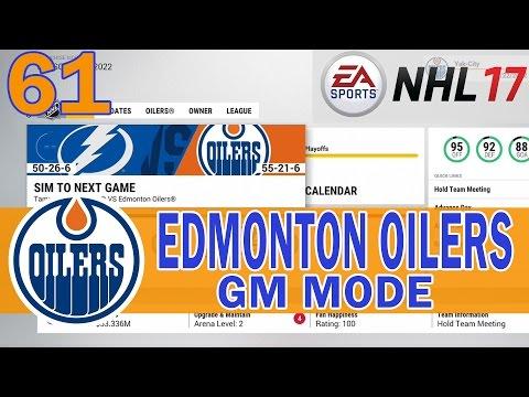 CONNOR MCDAVID'S LAST GAME? SCF VS LIGHTNING NHL 17 Edmonton Oilers Franchise Ep 61
