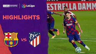 Barcelona 2-2 Atlético Madrid | Laliga 19/20 Match Highlights