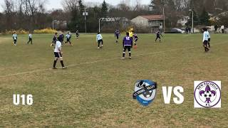 F.C.S.V vs New Rochelle F.C. U16 Spring Season (2018)