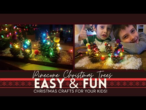 pinecone-christmas-trees- -fun-diy-christmas-craft-to-do-with-your-kids!