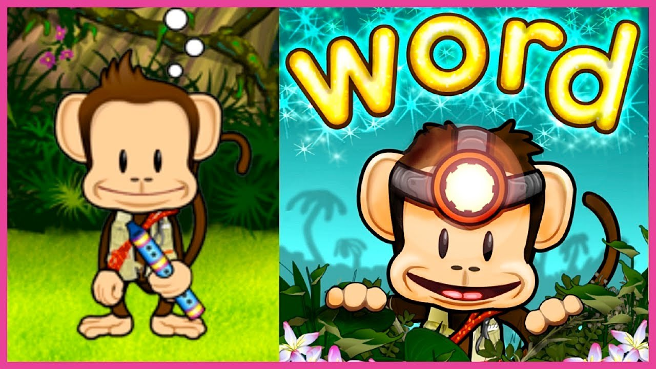 Monkey Word School Adventure Gameplay for Kids | Adventure learning Activities and Games for kids