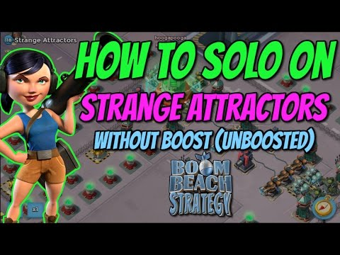Boom Beach Strange Attractors  How to finish solo  Unboosted  Dead End op   50 men TF