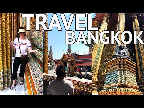 TRAVELLING TO BANGKOK!! Thailand Vlog One | Couple's Travel Vlog
