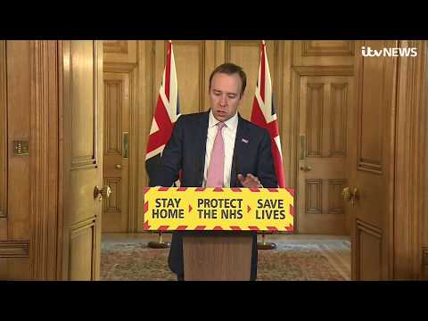 Live: UK Government Gives Daily Coronavirus Update - April 3 | ITV News