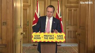 Live: UK Government gives daily coronavirus update - April 3   ITV News